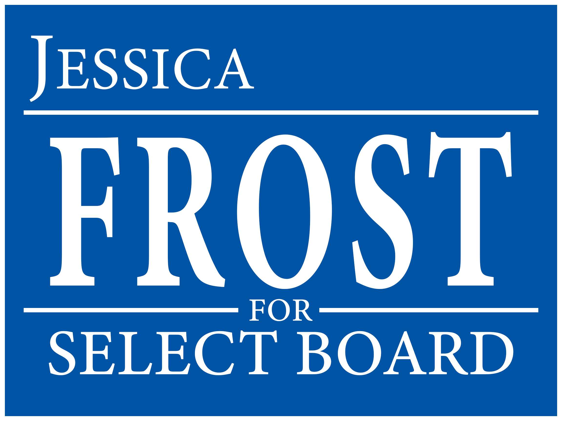 Jessica Frost for St. Albans